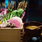 62799563 - 特級上海蟹味噌のバーニャカウダ1480円
