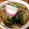 そば処 瓢箪 - 料理写真:かき揚げそば(430円)