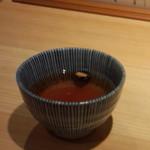 天丼まきの - 黒豆茶