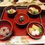 創味 卯京 - 料理写真:お食い初め ベビーサイズながら味は本格的