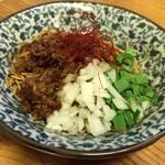 あかずきん - 和え玉(辛とろ麻婆麺専用)