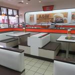 A&W - 店内