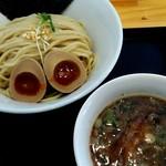 麵屋春馬 - 料理写真:味玉つけめん830円