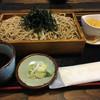 そば五郎 - 料理写真:十割蕎麦と蕎麦プリン