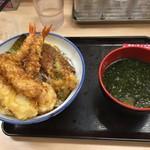 62824873 - 天丼+イカ