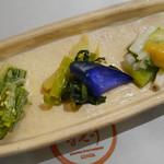 日本焼肉 はせ川 - 前菜3種