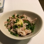 芝 - 博多水炊き(梅コース)酢もつ