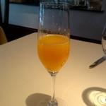 シェ松尾・松濤レストラン - オレンジジュース:1,200円