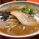長崎うまか亭 - チャーハンセットの豚骨ラーメン