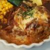 カフェ・ココ・タンタ - 料理写真:メインは煮込みハンバーグをチョイス。