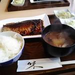赤坂ダイニング ままや - サバ味噌定食900円