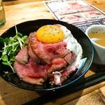 肉バル529 - ローストビーフ丼(並)