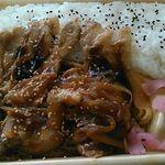 ローソン - 料理写真:★2017・2再訪 豚生姜焼き弁当 498円