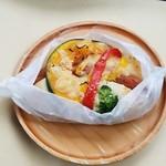 パンクラブ - 料理写真:「チョリソーと野菜」237円税込