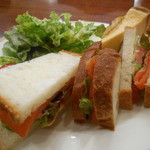 トリコロール - サンドイッチ
