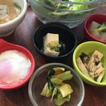 CAFEオヤジ - 定食の小鉢