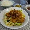 水新菜館 - 料理写真:ホイコーロー定食