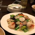 中国酒家 大三元 - 海鮮焼きそば(﹡ˆᴗˆ﹡)