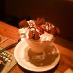 和食れすとらん 天狗 - チョコレートパフェ…的なモノ