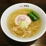 鶏そば カヲル - 鶏そば塩[¥700]