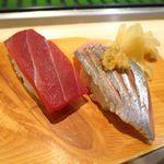 札幌シーフーズ - 本マグロ赤身、生ニシン