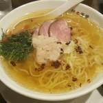 Hachinoashiha - 料理写真:塩 (梅しそトッピング)