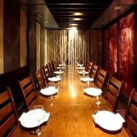 8名様~16名様までご利用可能な完全個室席ございます!