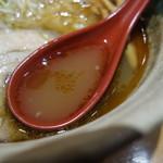 焼きあご塩らー麺 たかはし - スープ