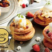 【2/24】プレミアムフライデー限定パンケーキ食べ放題