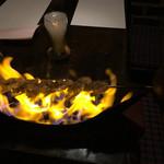 ビストロ・ボルドー - 天使の海老の短剣焼き