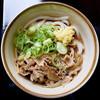 製麺七や - 料理写真:肉ぶっかけ冷