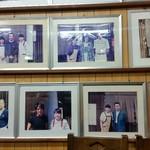 62955442 - 写真は左上から槇原敬之、さだまさし、今井美樹、ALFEE、左下は誰?、高橋克典、中西圭三、中村雅俊他にも大勢の有名人が来られたようです。