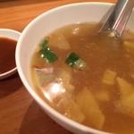 パッポンキッチン - スープ 塩辛い