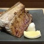 鮮魚・お食事処 山正 - さば塩焼き2切れ