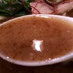欽山製麺所 - スープ(^^♪