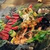 イタリアンバル SAMURAI - 料理写真:コースの魚介のカルパッチョ 一例