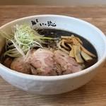 麺屋 いっ徳 - 黒正油チャーシュー麺