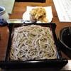 手打ち蕎麦 ほかげ - 料理写真:ランチの小海老かき揚げ