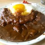 なかや - 料理写真:カツカレー700円。