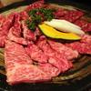焼肉福寿苑 - 料理写真:みやび3品盛り