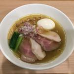 NOODLE CUISINE KENJI 麺処 けんじ - 料理写真:特製ラーメン塩