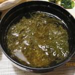 九兵衛旅館 - 味噌汁