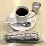アロマ 珈琲 - サイフォン式ブレンドコーヒー @430円