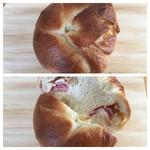 スックムック - 料理写真:ハム&オニオンクリームチーズナッツ
