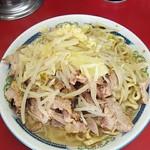 ラーメン二郎 - 小豚 600円※ニンニク、野菜