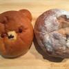 オリミネ ベーカーズ - 料理写真:クマのパンとくるみパン