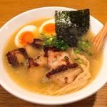 鶏ポタ ラーメン THANK - スペシャルラーメンとろり980円