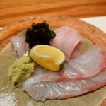 こふく - 鯛 金目鯛 メヒカリ お造り