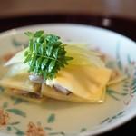 松川 - 蛤の筍挟み ふき