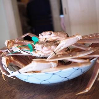 松川 - 料理写真:蟹!